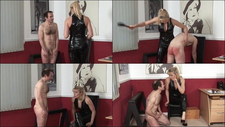 Girls spanking men