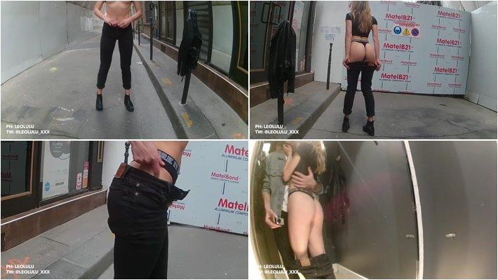 Amateur - public in Paris changing room blowjob fuck and cumshot