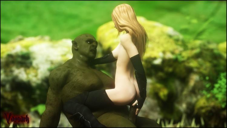 green skin porn