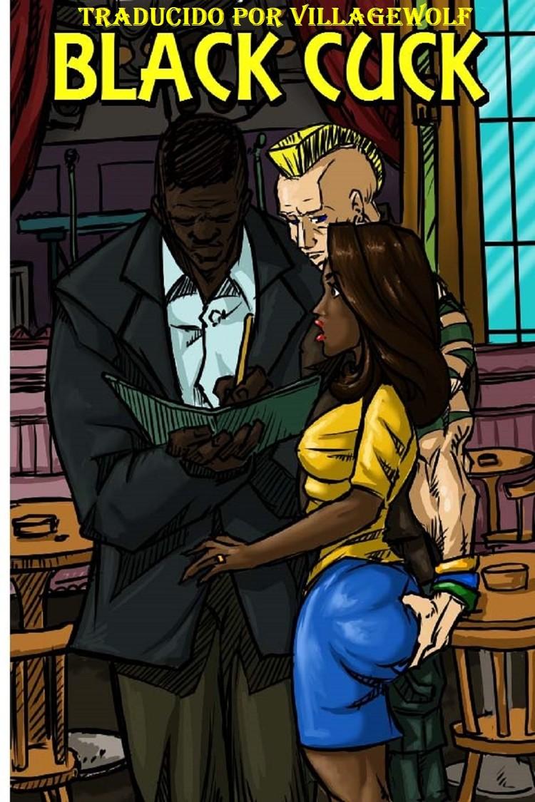 Black Cuck- Illustrated Interracial (Español)