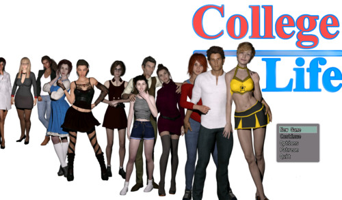 5555 m - College Life - Version 0.1.4a Full Pack [MikeMasters]