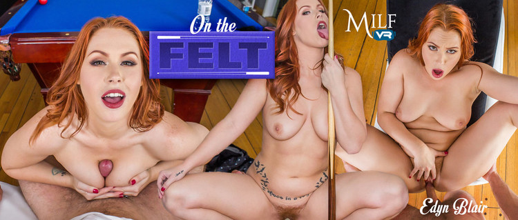 Milfvr presents Edyn Blair in On the Felt – 01.02.2018