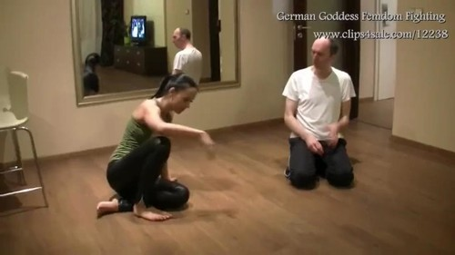 German Goddess Femdom Fighting – Goddess Zoe – MP4/HD – The Stronger One Rules