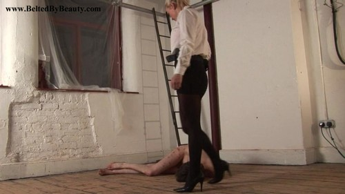 Cruel Goddess – Cuffed, Kicked and Abused