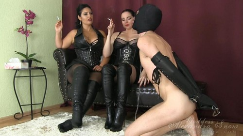 Goddess Alexandra Snow – MP4/Full HD – Human Ashtray