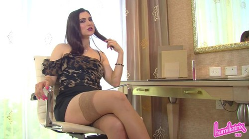 Humiliatrix – MP4/Full HD – Dominant Boss Tessa Turns You into Her Office Lipstick Slave