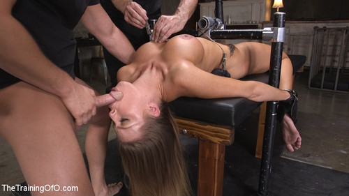 THE TRAINING OF O: January 2, 2018 – Britney Amber and Seth Gamble