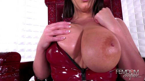 FemdomEmpire – Angela White – MP4/Full HD – Slave to Tits