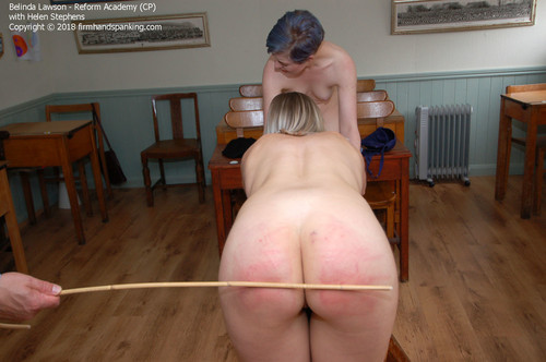 firmhandspanking – MP4/HD – Belinda Lawson – Reform Academy CP/Two peachy bottoms caned in sheer underwear: Belinda and Helen get six each!