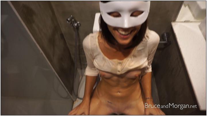 BruceAndMorgan – Hard Art Piss – bam 17 06 14 piss and cum licking in the bathroom