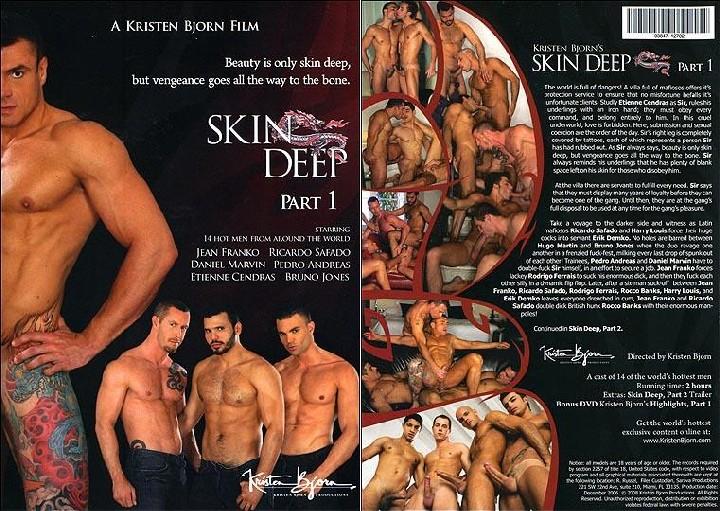 Skin Deep 1 (Kristen Bjorn, Kristen Bjorn / Sarava) [2008, anal, oral, international, general hardcore, condoms, DVDRip]