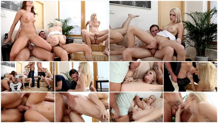 Wives fucking as husbands watch