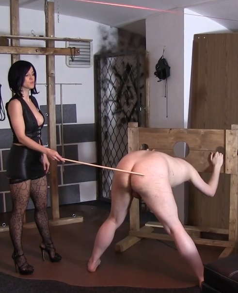 Caning With Slave Radec Interview