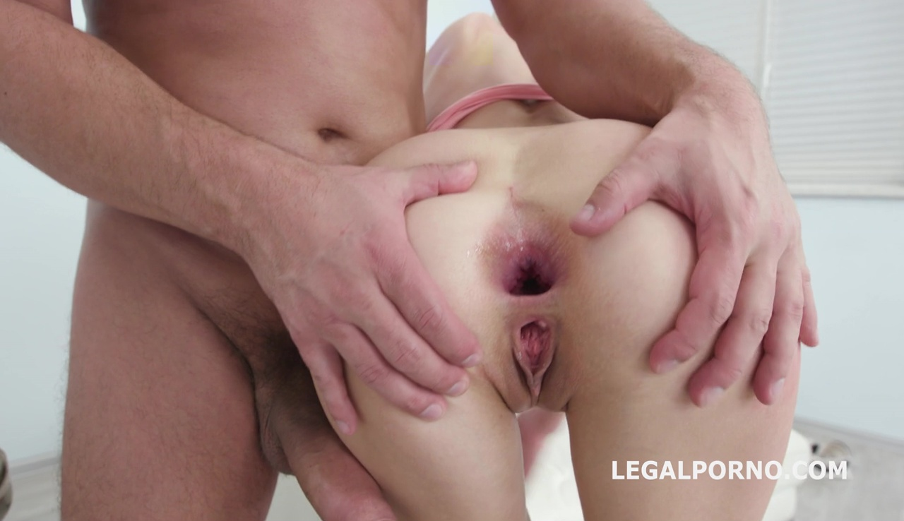 LegalPorno - Giorgio Grandi - Lesson number #1 for Arijna Welcome to Porn 100% ANAL / GAPES / Balls Deep / Swallow GIO583