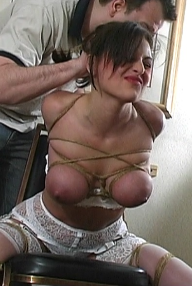 Calls for Bondage Lola Lynn Strips And Is Chairtied - Part 2