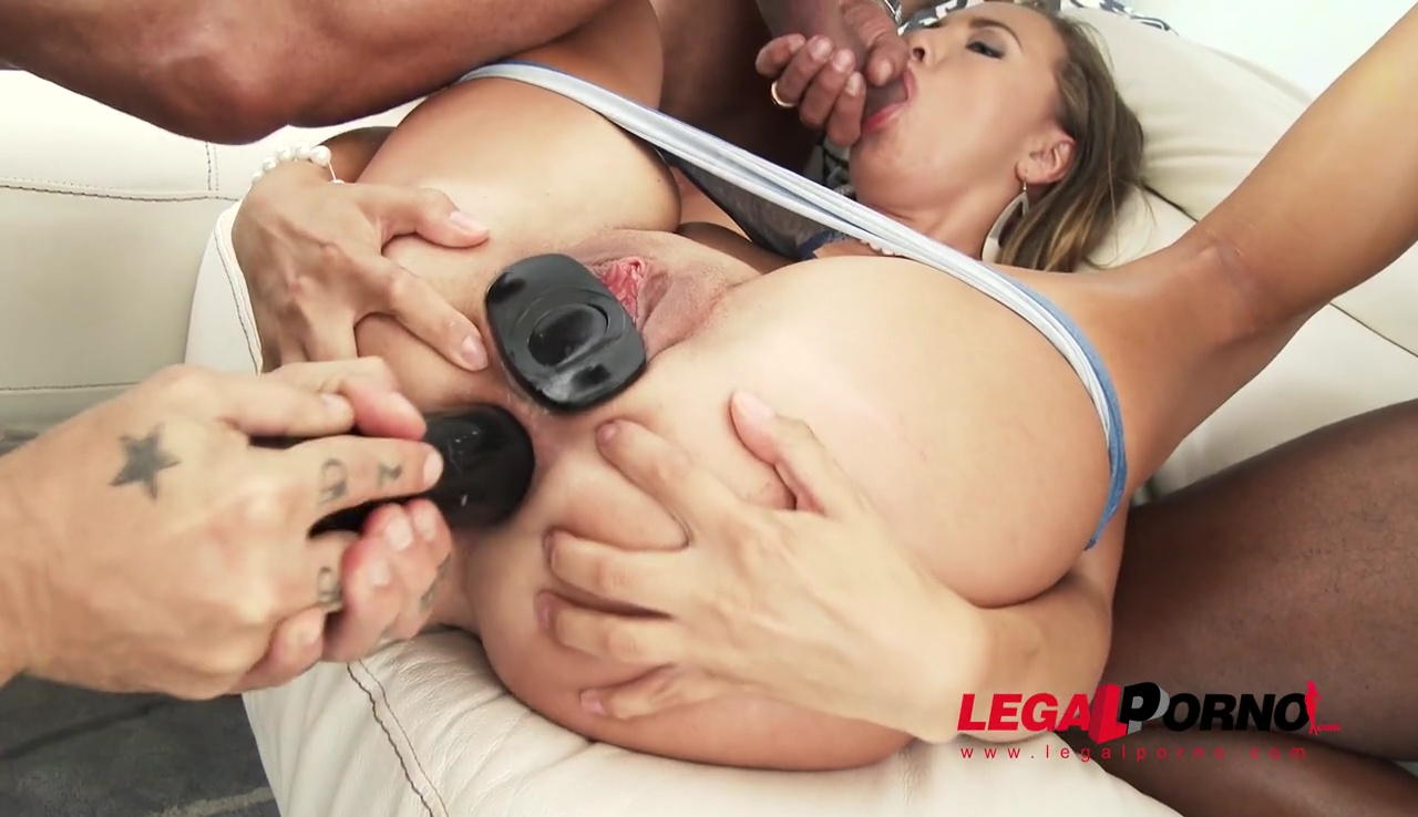 LegalPorno - Gonzo_com - Lexy Star swallows four loads after tremendous anal fucking & DP SZ1495