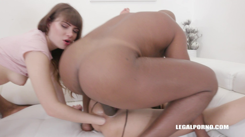 LegalPorno - Interracial Vision - Luna Rival & Francys Belle - dirty fisting & kinky way of sex Part 1 IV146