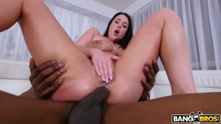 Big Tits Round Asses - Angela White - Busty Angela Takes A BBC In Her Ass 2018  - 720p Free Download From pornparadise.org