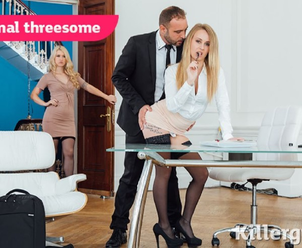 Misha Cross, Carmel Anderson - Office Anal Threesome - SD (2018/CumIntoMyOffice.com/Killergram.com/222 MB)