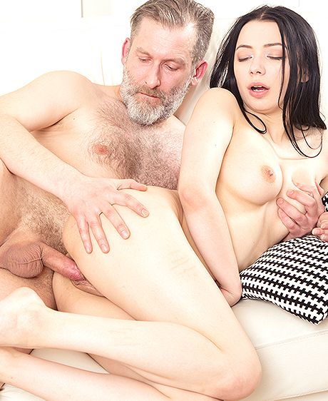 Emily Bender in Dude makes brunette focus on his hard cock