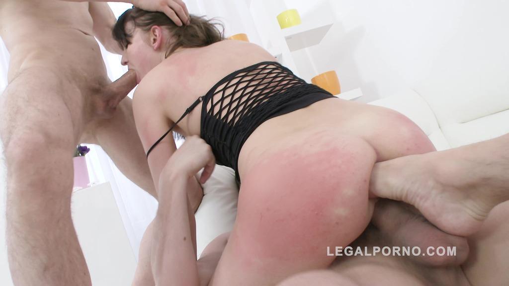 LegalPorno - Gonzo_com - Bree Haze double anal training SZ1256