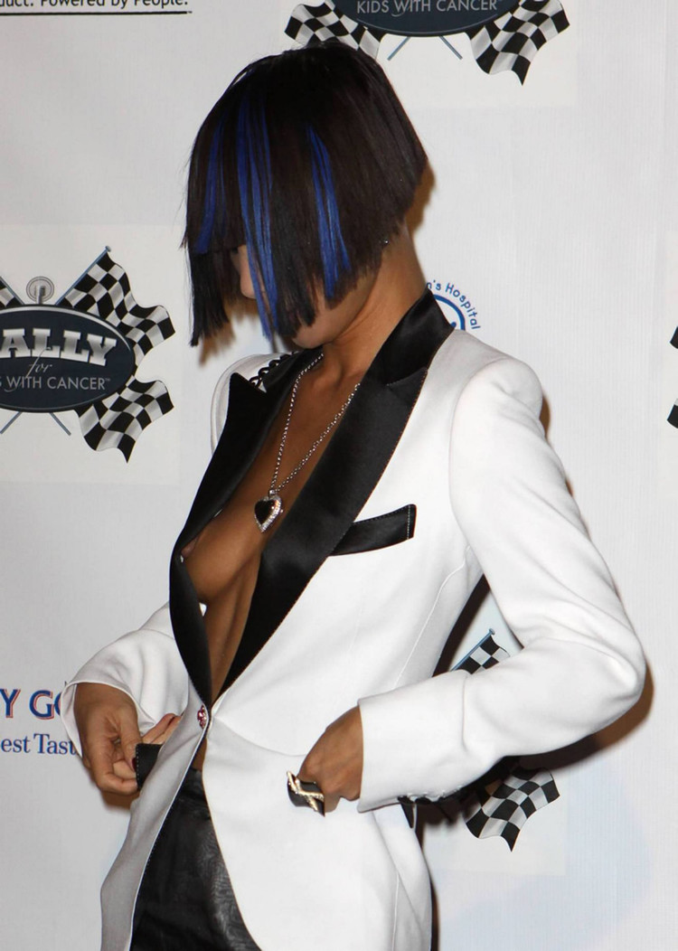 Bai Ling -Nipple Slip - Rally for Kids with Cancer - Celebrity Draft Party - Pic 06,