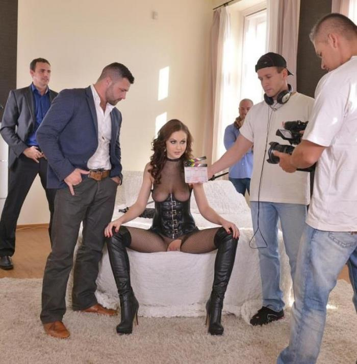 DDFNetwork Tina Kay Gangbang Turnaround: This Is What Really Happens On A Porn Set! SD 360p