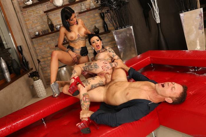 Roccosiffredi - Canela Skin, Megan T - Dr. Roccos Gaping Threesome Anal-ysis [SD 400p]