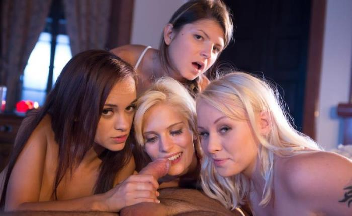 DorcelClub: Lea Guerlin, Gina Gerson, Lola Taylor, Candee Licious - 4 college girls get fucked in the dormitory by the supervisor [SD 540p] (Anal)