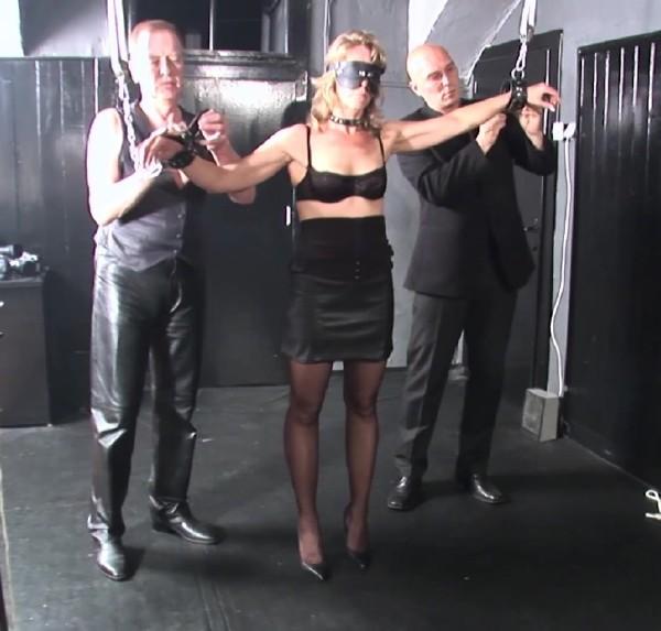 Marga - Spanking His Sex Slave Marga