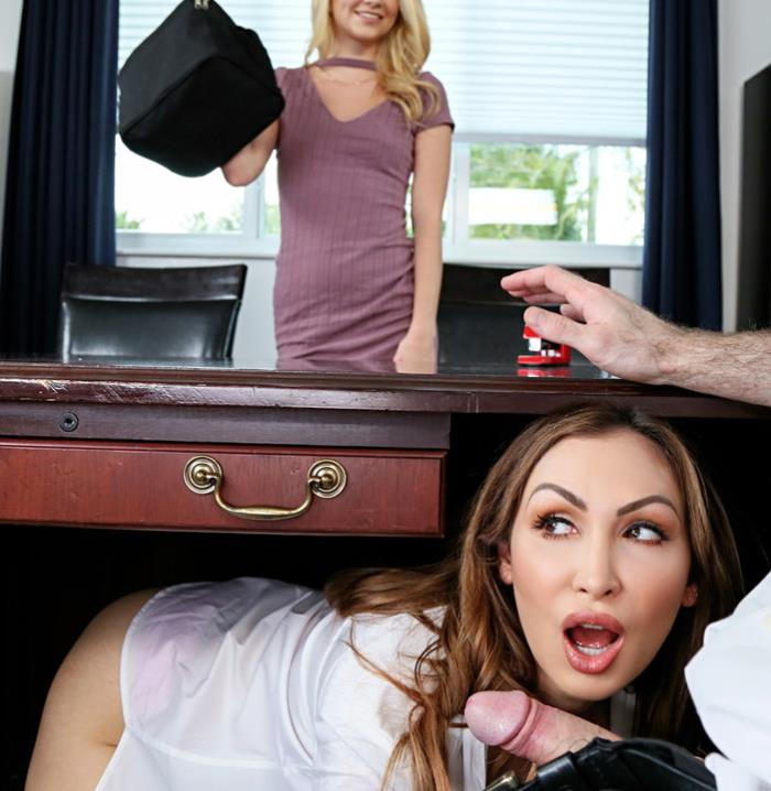 Riley Star, Yasmin Scott ~ Boss Shares Wife With Hot Secretary ~ ShareMyBF/Mofos ~ HD 720p