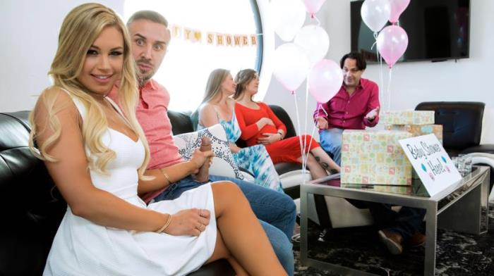 Kendall Kayden - Busted At The Babyshower (Orgy) - RealWifeStories / Brazzers [SD 480p]
