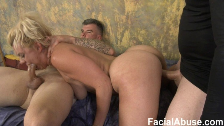 Face Fucking  - FacialAbuse - Stupid Fake Blonde Cunt - 30.09.2017 - 1080p Free Download From pornparadise.org