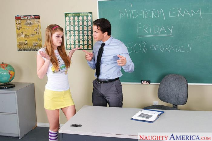 Faye Reagan - Naughty Bookworms (Teen) - NaughtyBookworms / NaughtyAmerica [SD 360p]