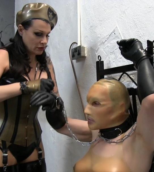 Rubette's Punishment Strapping