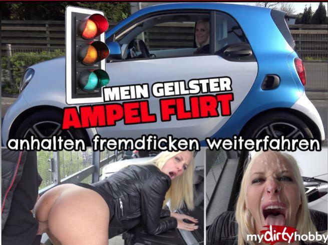 Lara-CumKitten - Mein geilster Ampel Flirt - Anhalten Fremdficken Weiterfahren - My horny AMPEL FLIRT To keep sth (2018/MyDirtyHobby/MDH/FullHD)