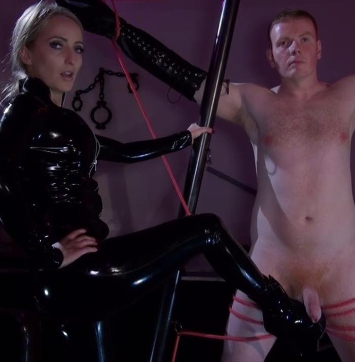 Mistress Courtney - - CBT in Berlin [KinkyMistresses] HD 720p
