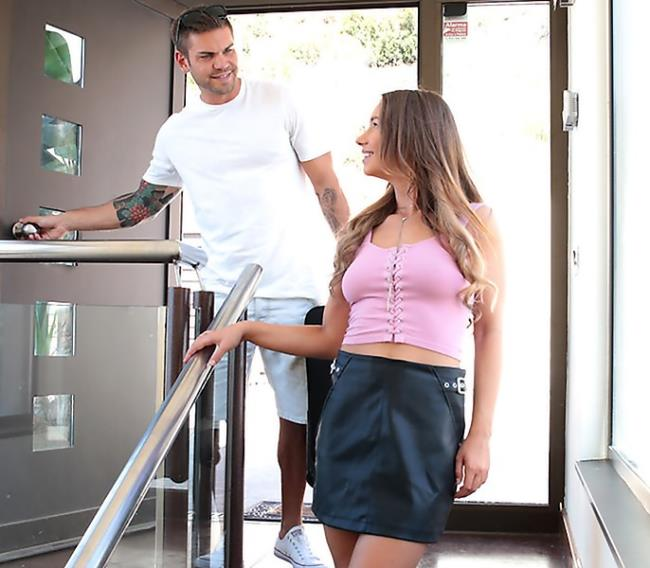 SpyFam: Taylor Sands (Hairy) Step Sister Ambushes Barcelona Step Bro [HD 720p]