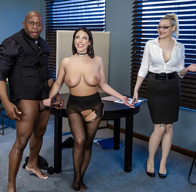 Brazzers/BigTitsAtWork - Angela White - Full Service Banking [HD 720p]