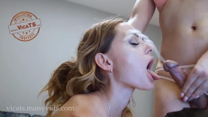 ManyVids - VicaTS [Milla loving sperm VicaTS] (FullHD 1080p)