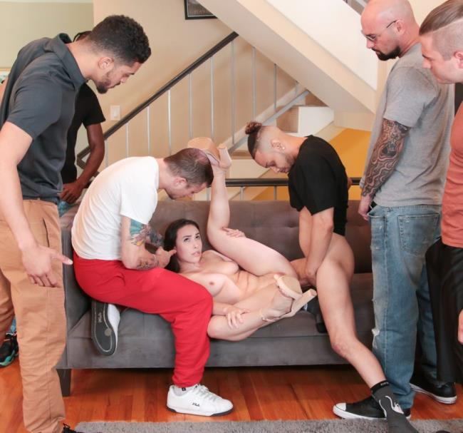 Casey Calvert - - DP Gangbang Revenge For Cheating Casey [EvilAngel] HD 720p