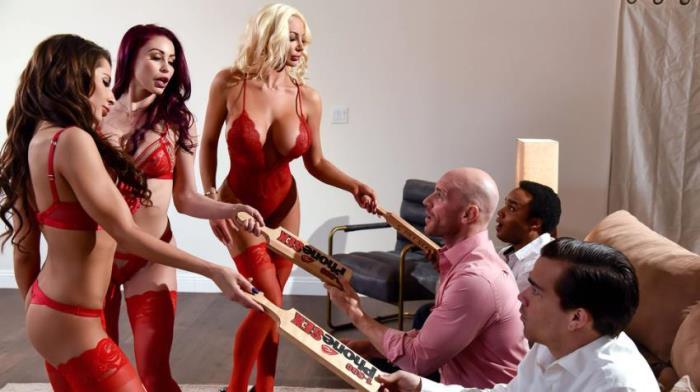 Madison Ivy, Monique Alexander, Nicolette Shea - 1 800 Phone Sex: Line 8 [SD 480p] - BrazzersExxtra / Brazzers