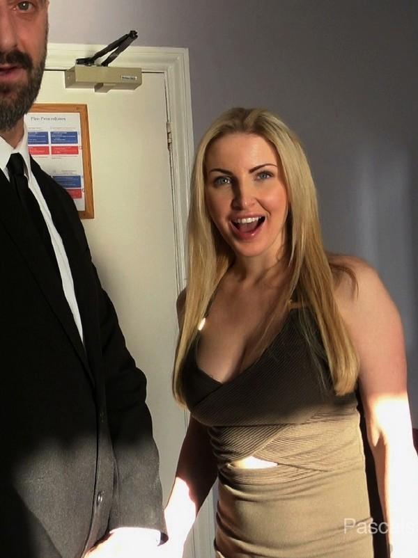 Georgie Lyall - Hotel Boss Blackmails Pss For Sex (BDSM) [HD 720p] [PascalsSubSluts]
