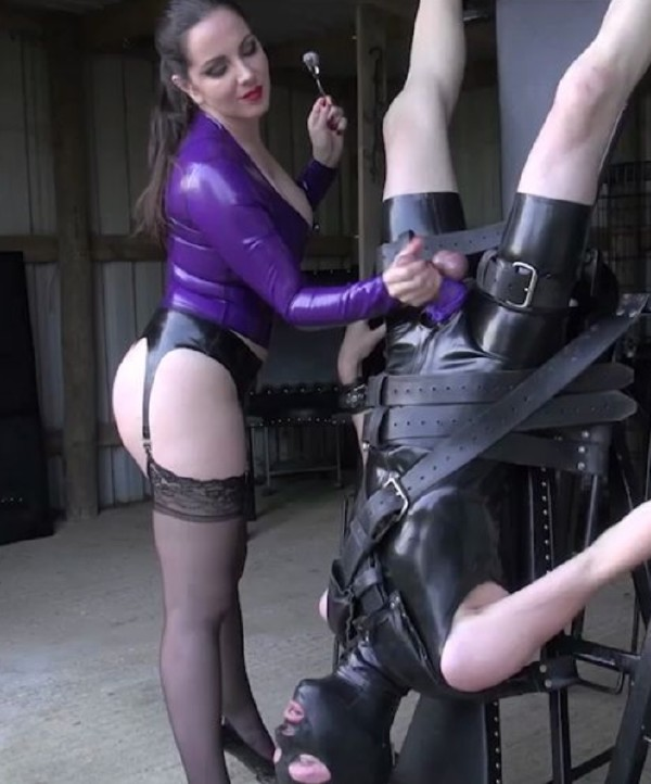 Domina Alexandra Snow ~ Wheel Of Pain and Pleasure ~ TheEnglishMansion ~ HD 720p