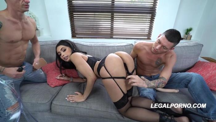 LegalPorno - Aaliyah Hadid [Is a BEAST..1st ever DP!] (SD 480p)