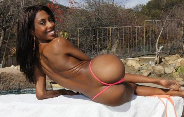 BangBros - Adriana Malao - Ebony babe gets some big black dick (1080p / FullHD)