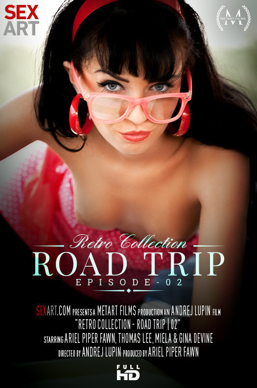 Gina Devine - Road Trip Episode 2 [SD 360p] - SexArt / MetArt