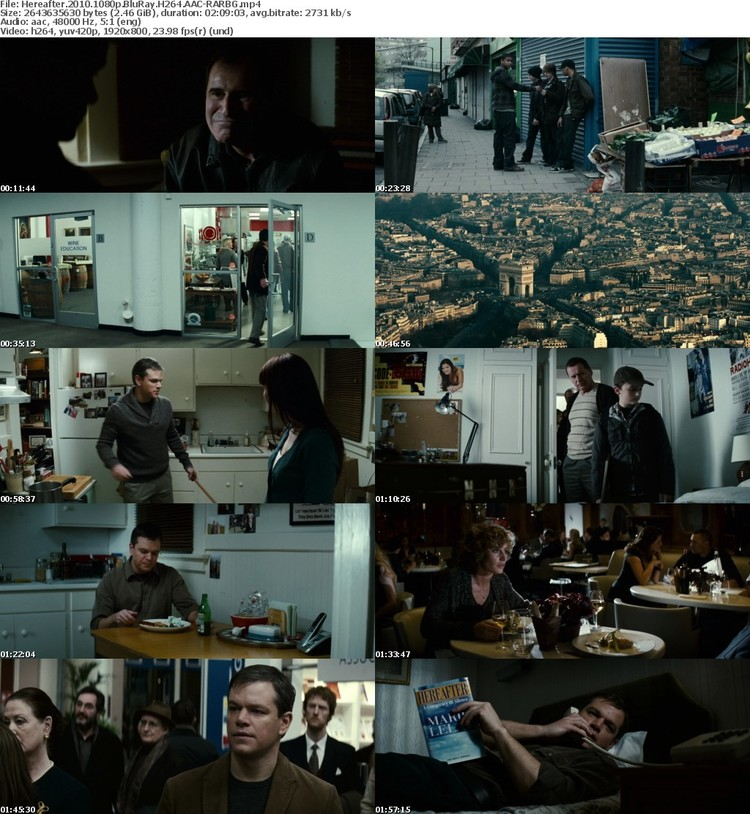 Hereafter 2010 1080p BluRay H264 AAC-RARBG