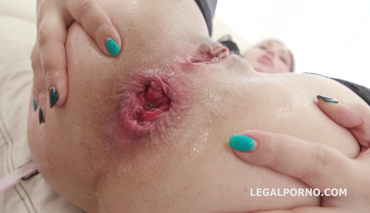 LegalPorno - Giorgio Grandi - Double Addicted 5on2 with Anal Fisting Dominica Phoenix & Selvaggia No Pussy / Balls Deep / DAP / Gapes / Swallow GIO458