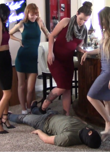 The Five-Girl Trampling Record